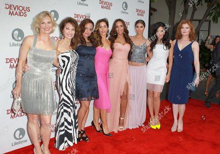 Melinda Page Hamilton, Susan Lucci, Judy Reyes, Ana Ortiz, Dania Ramirez, Roselyn Sanchez, Edy Ganem, Rebecca Wisocky