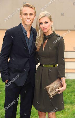 Max Chilton and Chloe Roberts