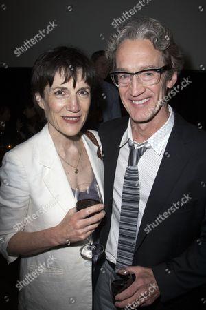 Harriet Walter and Guy Paul