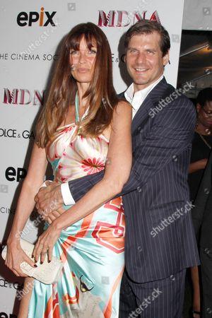 Carol Alt and Alexei Yashin