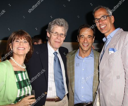 Margo Lyon, Ted Chapin, Hal Luftig and Jerry Mitchell