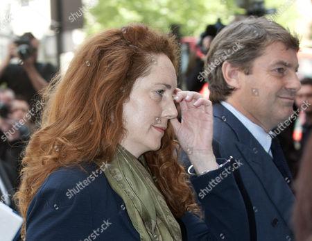 Rebekah Brooks And Charlie Brooks Arrive At Westminster Magistrates Court.  Rebekah Wade.