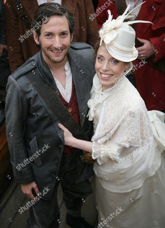Rebecca Bottone (Mabel) and Nicholas Sharratt (Frederic)