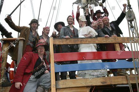 Editorial photo of 'The Pirates of Penzance' play photocall on The Matthew Bristol Docks for The Bristol Hippodrome, Britain - 18 Jun 2013