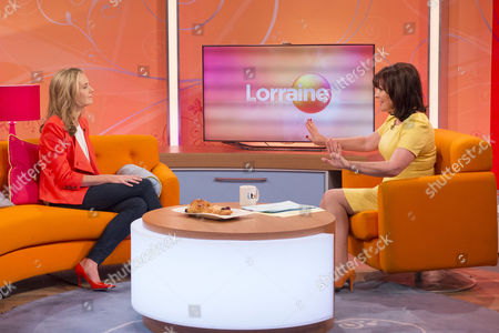 Lauren Weisberger and Lorraine Kelly