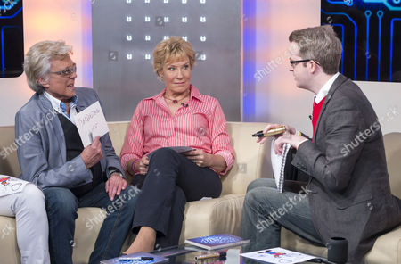 Stock Image of Lionel Blair, Christine Hamilton and David Meade