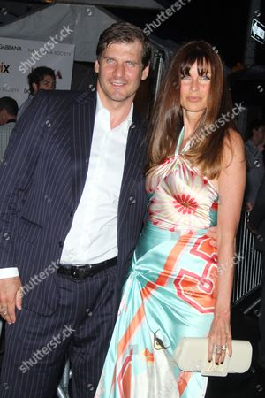 Alexei Yashin and Carol Alt