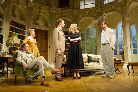 Patricia Hodge (Felicity, Countess of Marshwood), Steven Pacey (Peter Ingleton), Ben Mansfield (Don Lucas), Katherine Kingsley (Miranda Frayle) and Sam Hoare (Nigel, Earl of Marshwood)