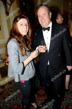 Carla Filmer and Jamie Bill