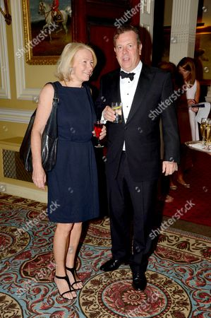 Stock Picture of Anne Holcroft and Jamie Bill