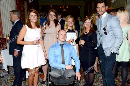 Lal Barker, Kristal Jones, Shaun Stocker, Lily Cawford, Jade Richards and David Gandy