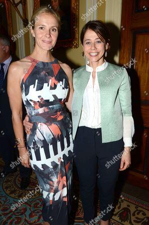 Stock Image of Julia Moloney and Lisa Haddway