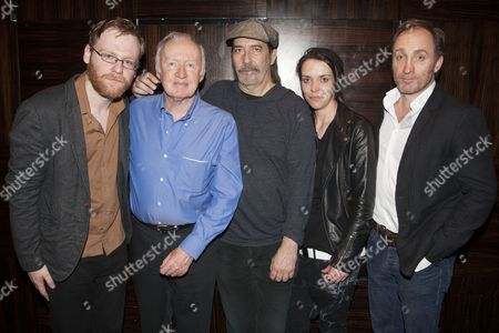 Brian Gleeson (Kenneth), Jim Norton (Maurice), Ciaran Hinds (Tommy), Caoilfhionn Dunne (Aimee) and Michael McElhatton (Doc)