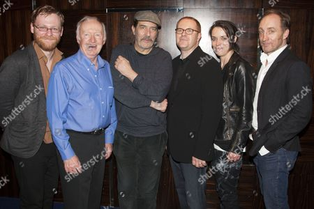 Brian Gleeson (Kenneth), Jim Norton (Maurice), Ciaran Hinds (Tommy), Conor McPherson (Author/Director), Caoilfhionn Dunne (Aimee) and Michael McElhatton (Doc)