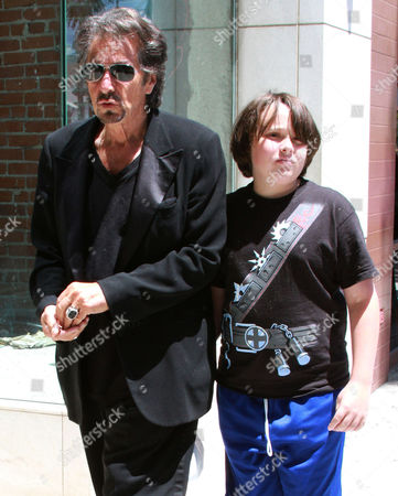 Stock Photo of Al Pacino and Anton James Pacino