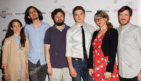 Sophia Takal, Keith Poulson, Director Michael M Bilandic with Hellaware creative team