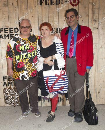 Mickey Boardman, Lynn Yaeger and Michael Musto