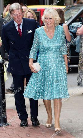 Sir Tim Stevenson and Camilla Duchess of Cornwall