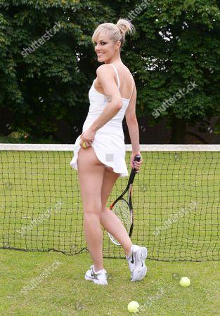 Editorial image of Bowie Jane at Wimbledon, London, Britain - 20 Jun 2013