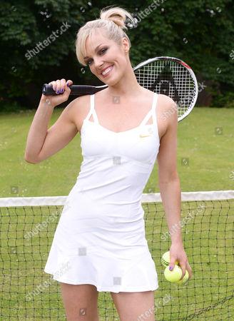 Editorial photo of Bowie Jane at Wimbledon, London, Britain - 20 Jun 2013