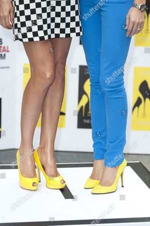 Lisa Snowdon and Lauren Weisberger shoes