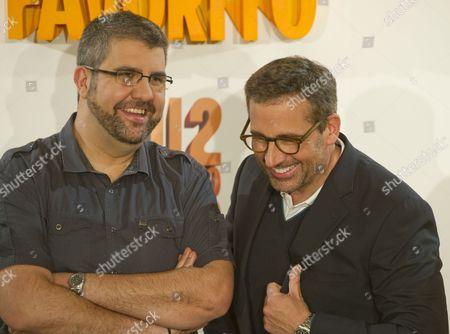 Florentino Fernandez and Steve Carell