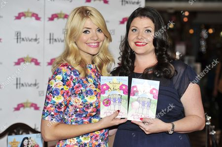 Editorial image of Holly Willoughby and Kelly Willoughby signing for their book 'School for Stars: First Term at L'Etoile', Harrods, London, Britain - 20 Jun 2013