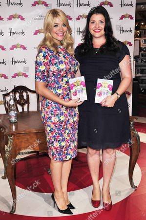 Stock Image of Holly Willoughby and Kelly Willoughby