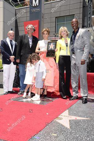 Pitbull, Jane Fonda, Keenan Ivory Wayans, Emme Anthony, Jennifer Lopez and Max Anthony