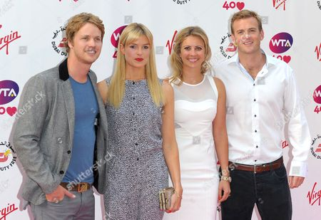 Sam Branson, Isabella Calthorpe, Holly Branson and Fred Andrewes