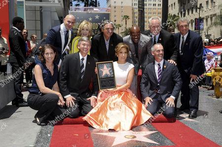 Pitbull, Jane Fonda, Jennifer Lopez and Keenan Ivory Wayans