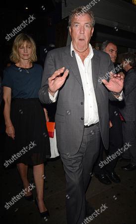 Jeremy Clarkson and Nicola Formby