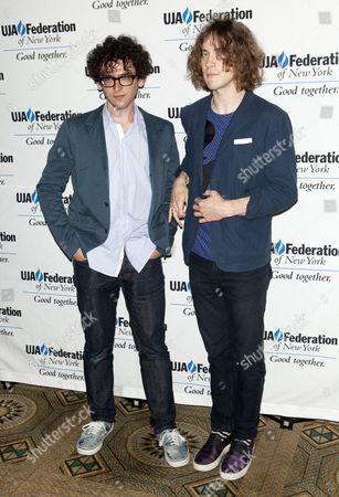 Benjamin Goldwasser and Andrew VanWyngarden of MGMT