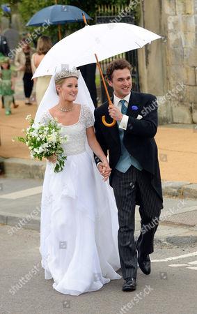 Lady Melissa Percy and Thomas Van Straubenzee