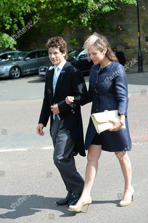 Sam Waley-Cohen and Annabel Ballin