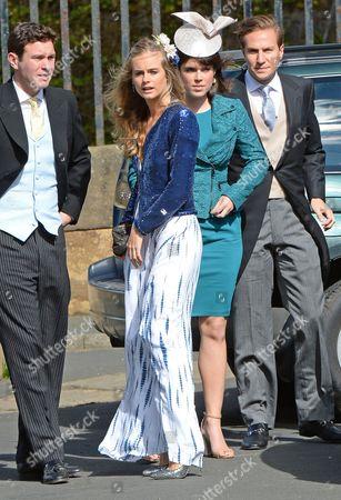 Jack Brooksbank, Cressida Bonas and Princess Eugenie