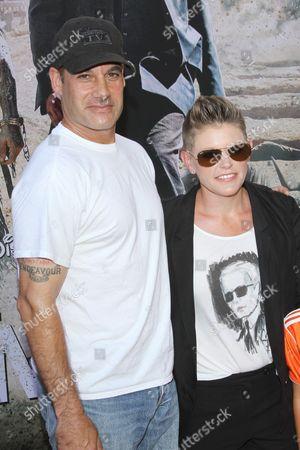 Adrian Pasdar and Natalie Maines