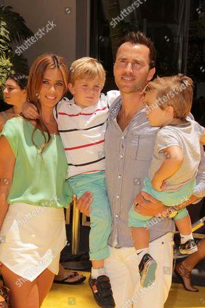 Lydia McLaughlin, husband Doug McLaughlin and family