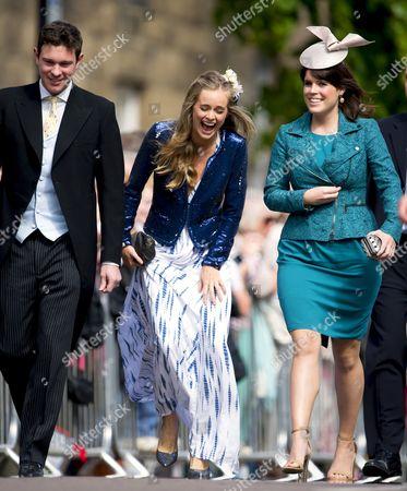 Jack Brooksbank and Cressida Bonas and Princess Eugenie