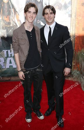 Stock Photo of Jesse Robitaille and Steven R. McQueen