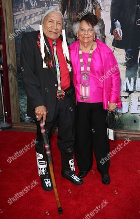Stock Picture of Saginaw Grant and guest