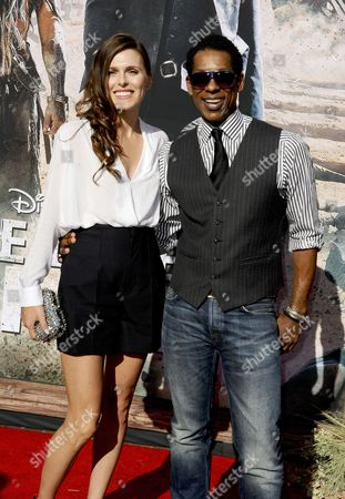 Orlando Jones and Jacqueline Staph