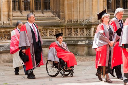 Editorial picture of Oxford University's Encaenia ceremony, Oxford University, Britain  - 19 Jun 2013