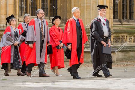 Professor Ingrid Daubechies, Sir Tom Stoppard, Professor Anthony Grafton, Dame Anne Owers, The Honorable Andrew Li Kwok Nang
