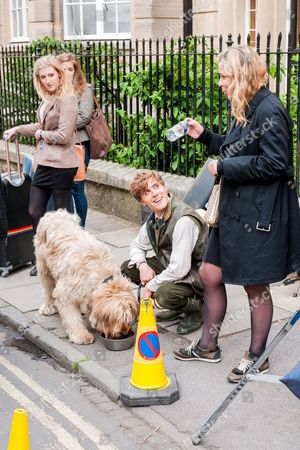 Editorial picture of 'Posh' on set filming, Oxford, Britain - 24 Jun 2013