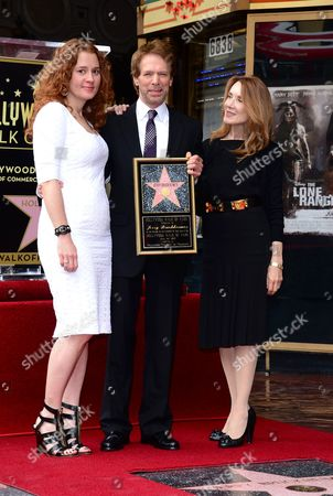 Editorial picture of Jerry Bruckheimer honoured with a star on the Hollywood Walk of Fame, Los Angeles, America - 24 Jun 2013