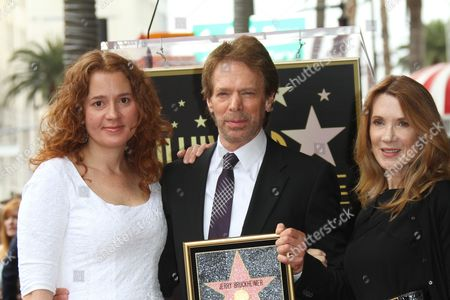 Stock Picture of Alexandra Bruckheimer, Jerry Bruckheimer and Linda Bruckheimer