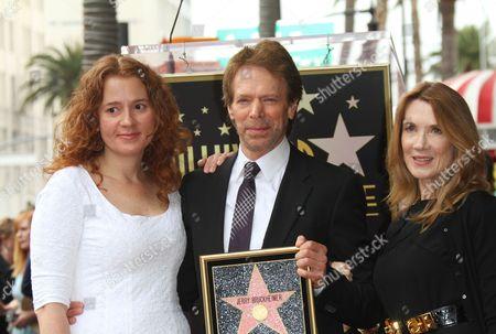 Stock Photo of Alexandra Bruckheimer, Jerry Bruckheimer and Linda Bruckheimer