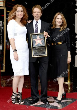 Editorial image of Jerry Bruckheimer honoured with a star on the Hollywood Walk of Fame, Los Angeles, America - 24 Jun 2013