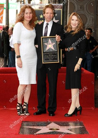 Editorial photo of Jerry Bruckheimer honoured with a star on the Hollywood Walk of Fame, Los Angeles, America - 24 Jun 2013